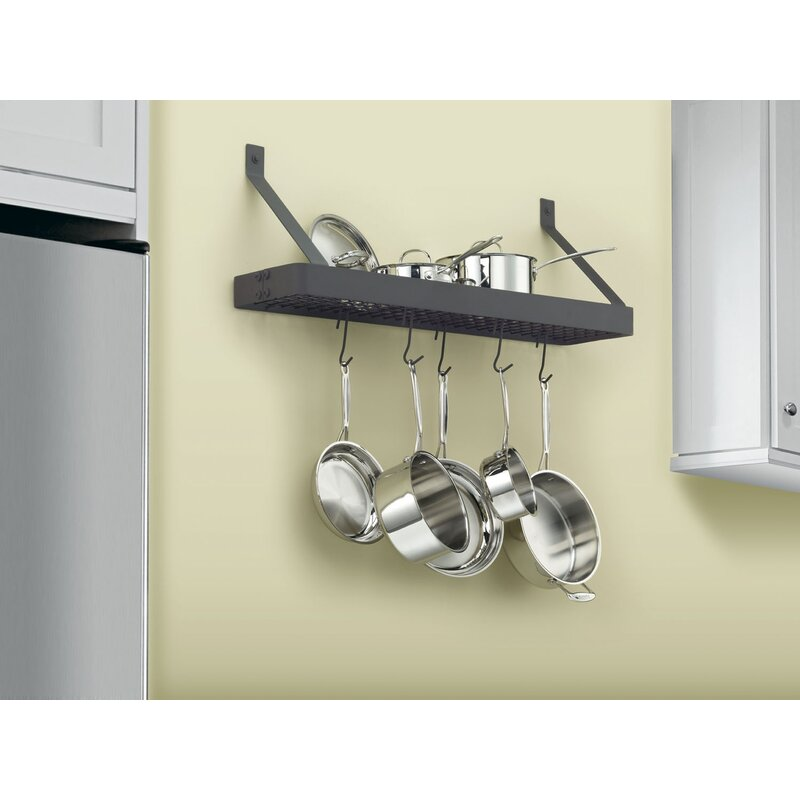 36 Bookshelf Pot Rack