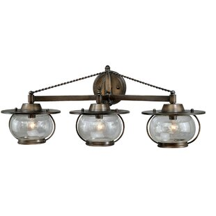 Affordable Price Karole 3-Light Vanity Light By Williston Forge