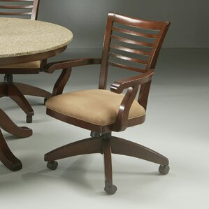 Grand Vista Caster Chair in Cosmo Amber by Impacterra