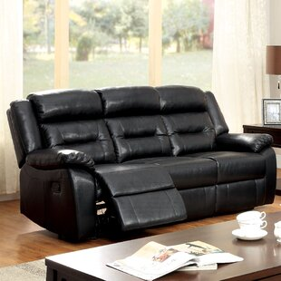Hokku Designs Brecken Reclining Sofa
