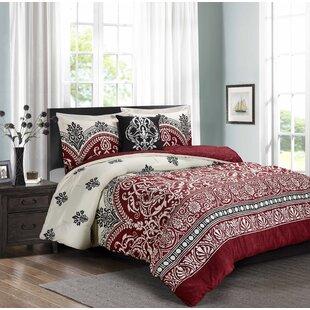 Swearingen 4 Piece Comforter Set by Red Barrel Studio