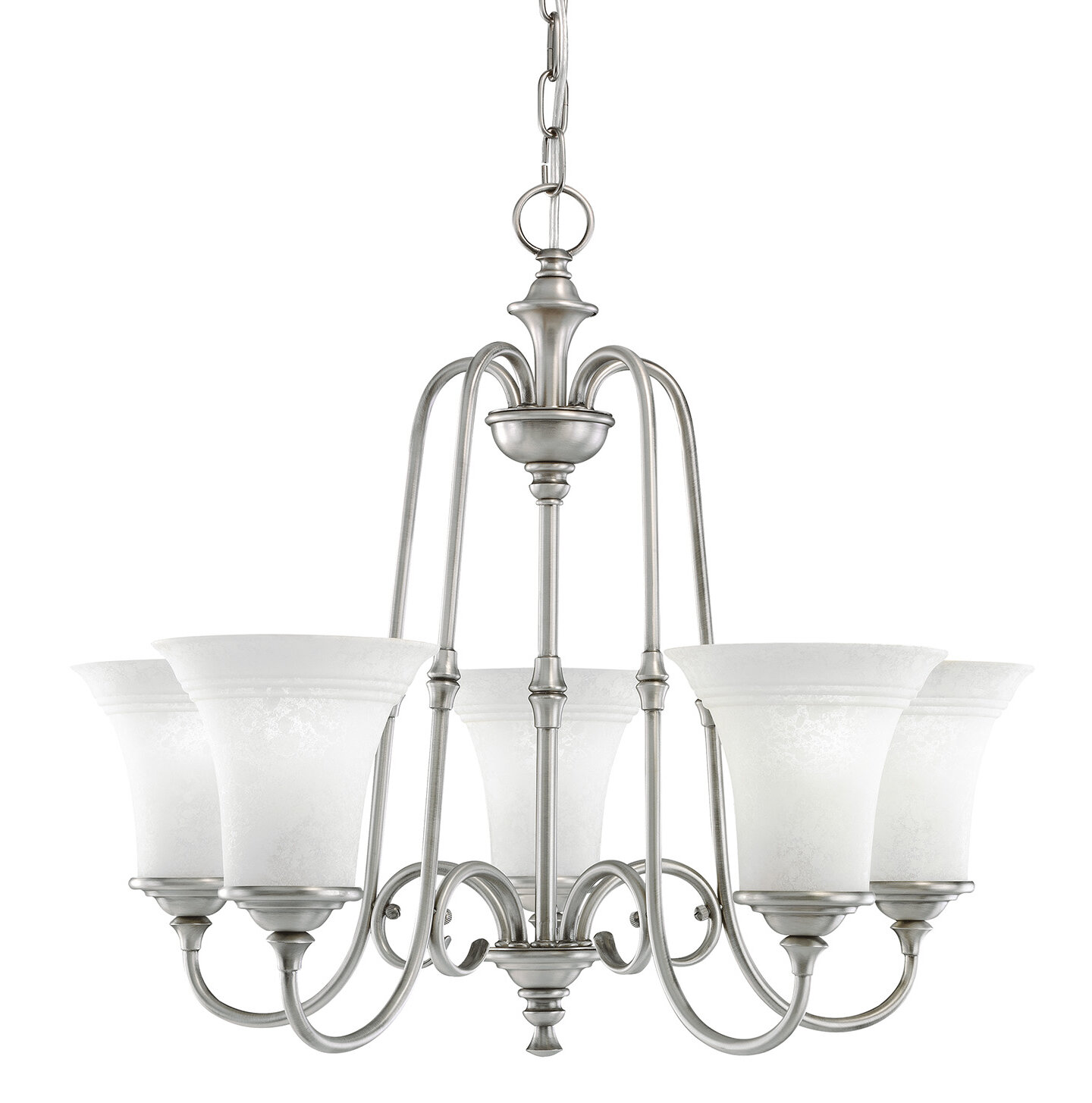 Charlton Home Camille 5 Light Shaded Classic Traditional Chandelier Wayfair
