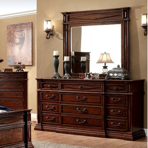 Blair 12 Drawer Dresser with Mirror by Astoria Grand