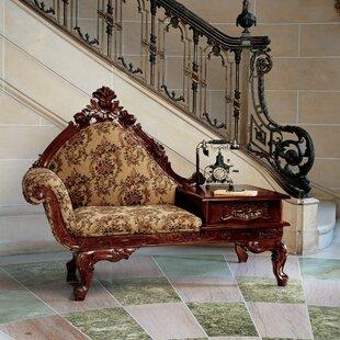 Design Toscano Victorian Storage Bench