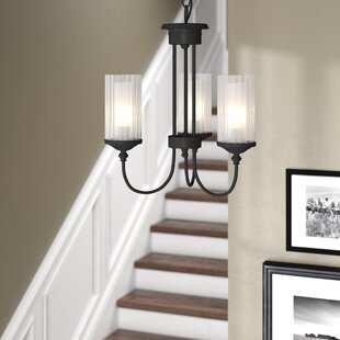 Alcott Hill Neiman 3-Light Shaded Chandelier