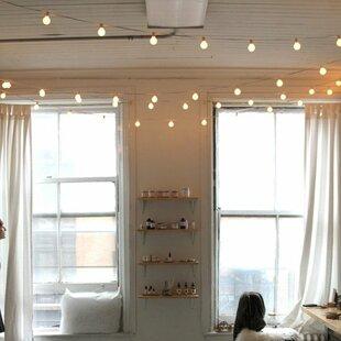 Top Reviews 50-Light Globe String Lights By Hometown Evolution, Inc.