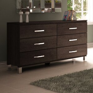 Cranbrook 6 Drawer Double Dresser by College Woodwork