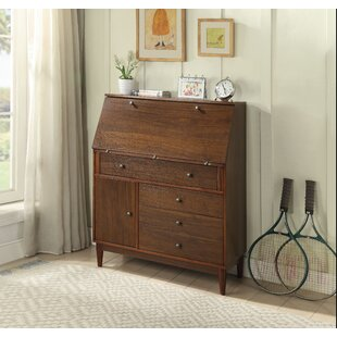 Tackett Solid Wood Armoire Desk