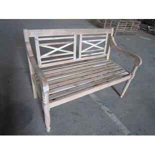 Kourtney Wooden Bench by Lynton Garden