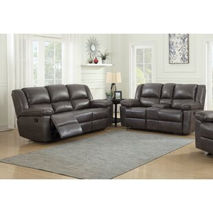 Faiyaz 2 Reclining Piece Living Room Set by Red Barrel Studio