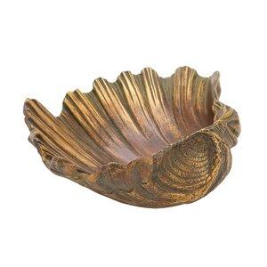 Decorative Polystone Sea Shell Sculpture