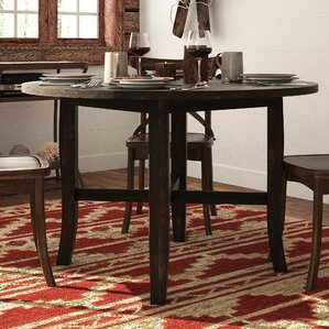 Round Dining Room Table With Leaf shop 6,613 kitchen & dining tables | wayfair