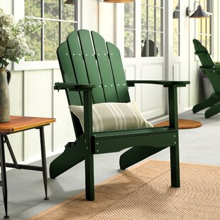 Sawyerville Plastic Adirondack Chair by Laurel Foundry Modern Farmhouse