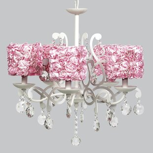 Jubilee Collection Elegance 5-Light Shaded Chandelier