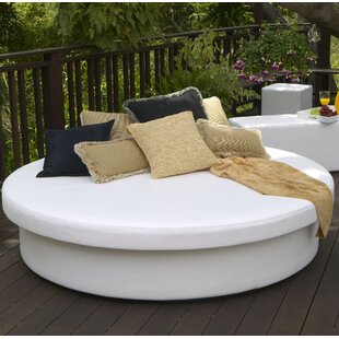 La-Fete SunPad Round Resort Patio Daybed