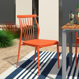 Chmura Armless Stacking Patio Dining Chair
