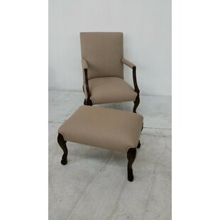 Ital Art Design Cabriat Lounge Chair and Ottoman