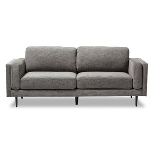 Brennan Retro Mid-Century Loveseat by Langley Street