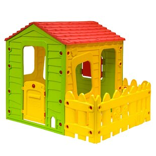 Fun With One Side Fence 4.79' X 3.88' Playhouse By Starplay