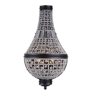 Seth 3-Light Empire Chandelier by Bungalow Rose