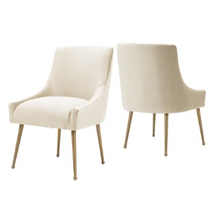 Brooklston Side Chair Set of 2 by Mercer41
