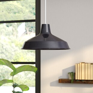 Gattis 1-Light Dome Pendant by Orren Ellis
