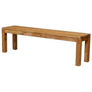 Allegro Wood Bench by Mistana