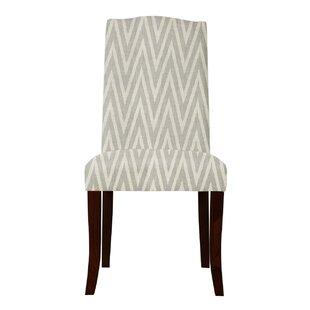 Latitude Run Guttenberg Chervon Parsons Chair (Set of 2)