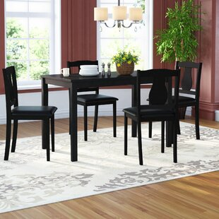 Kiel 5 Piece Dining Set by Andover Mills Top Reviews
