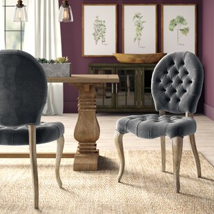 Hearne Upholstered Side Chair (Set of 2) Greyleigh