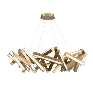 Modern Forms Chaos 31-Light LED Geometric Chandelier