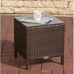 Redmayne Aluminium And Rattan Side Table Image