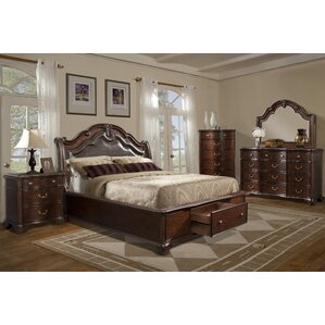 Alanya Storage Sleigh bed by Astoria Grand