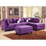 Remarkable Purple Chaise Sofa Wayfair Ncnpc Chair Design For Home Ncnpcorg