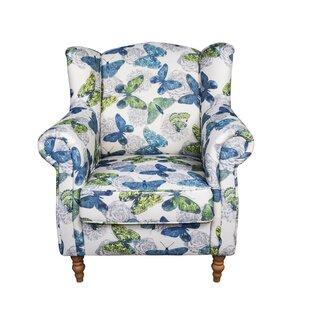 Juliette Butterfly Wingback Chair