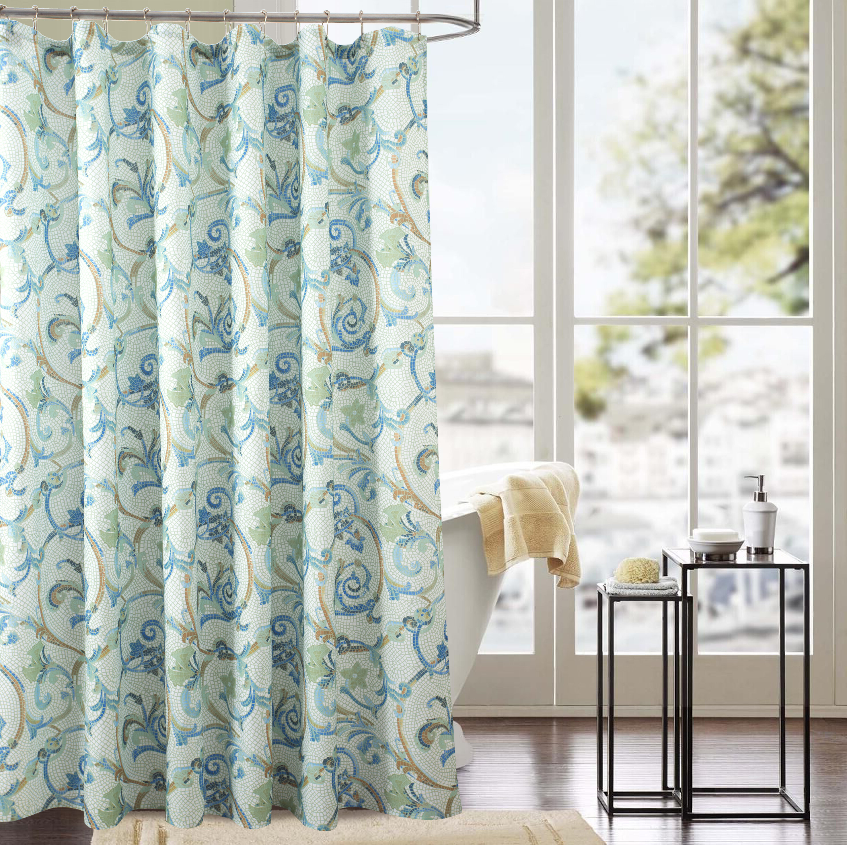 Jancis Classic Single Shower Curtain