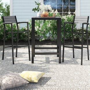 Windsor 3 Piece Bar Height Dining Set