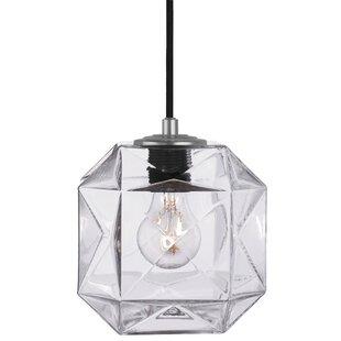 Oggetti Mimo Cube 1-Light Geometric Pendant