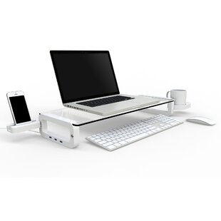 Smart Monitor Stand With Build-in Super High Speed USB 3.0 HUB By Mercury Row