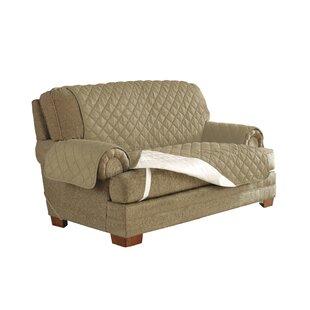 Ultimate Waterproof Box Cushion Loveseat Slipcover