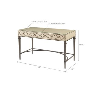 Perez Nailhead Writing Desk by Darby Home Co