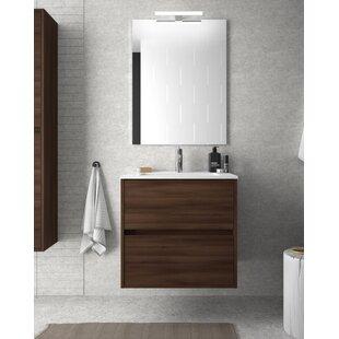 Read Reviews Elrod 610mm Wall Hung Single Vanity Unit