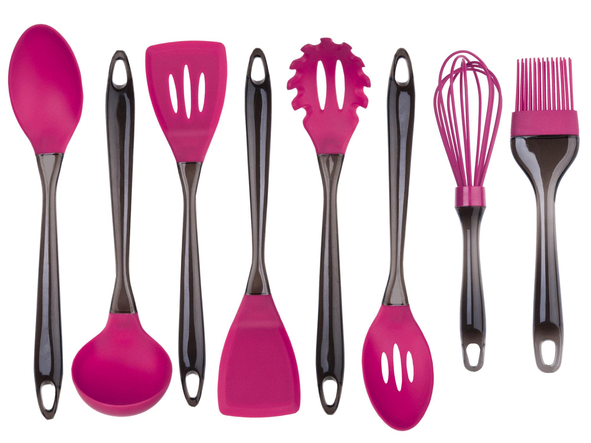 Culinary Edge 8 Piece Silicone Utensil Set & Reviews | Wayfair