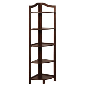 Inexpensive Carlotta Corner Unit Bookcase by Charlton Home