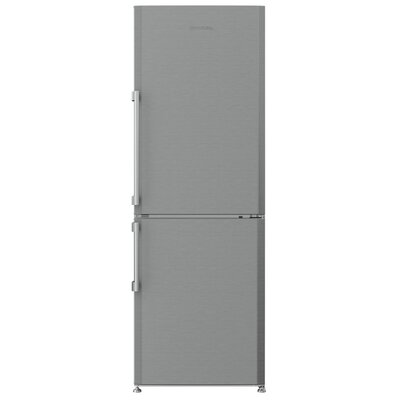 1034 cu ft Counter Depth Bottom Freezer Refrigerator Blomberg FinishColor Stainless Steel