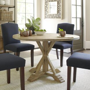 Best Reviews Hammersley Round Dining Table By Birch Lane™