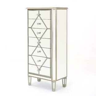 Big Save Remi Mirrored 7 Drawer Cabinet ByRosdorf Park