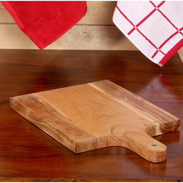 Intrade Global Acacia Wood Square Chopping Board & Reviews by Intrade Global