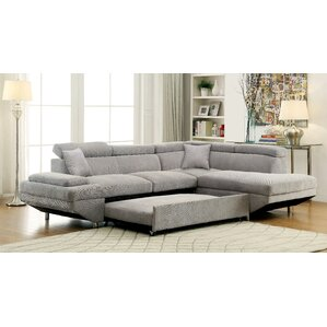 Aprie Sleeper Sectional Collection  sc 1 st  Wayfair : leather sleeper sectional - Sectionals, Sofas & Couches