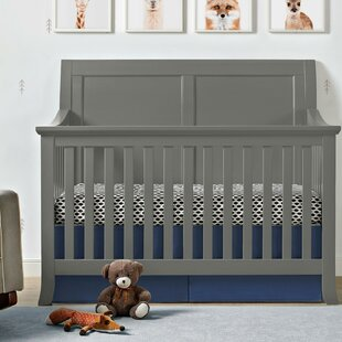 Reviews Powell 4-in-1 Convertible Crib By Harriet Bee